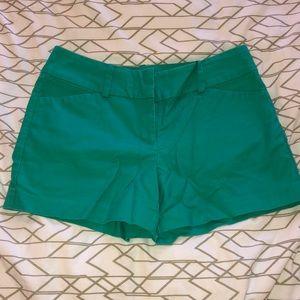 Ann Taylor Teal shorts
